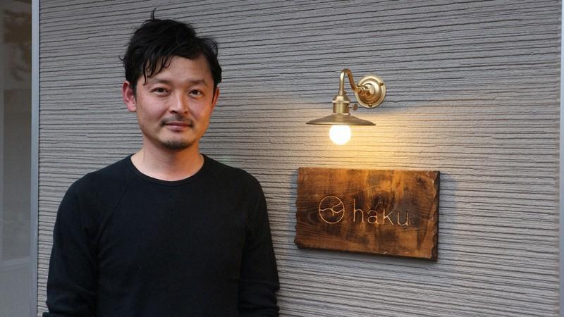 「haku hostel+cafe bar」を運営する株式会社hakuの社長、菊地辰徳さん=筆者提供