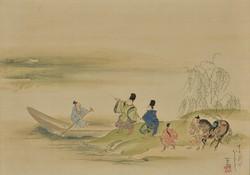 浮田一蕙《隅田川図》 江戸時代後期 敦賀市立博物館蔵