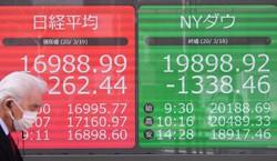 日経平均は3年4カ月ぶりに1万7000円を割り込んだ