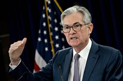 FRBは3月3日、大規模な緊急利下げで市場を驚かせた(Bloomberg)