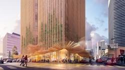 2025年オープン予定の高層ビルのイメージ Koichi Takada Architects提供