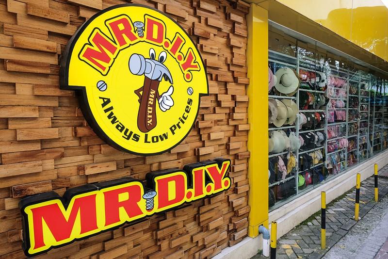 順調に店舗数を増やす「ミスターDIY」 筆者撮影