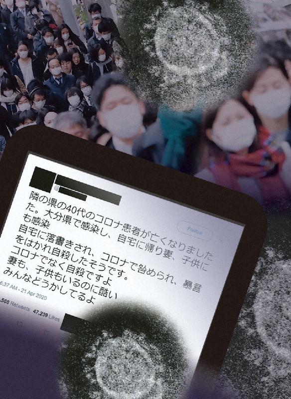 Twitter 爆サイ山梨コロナ特定
