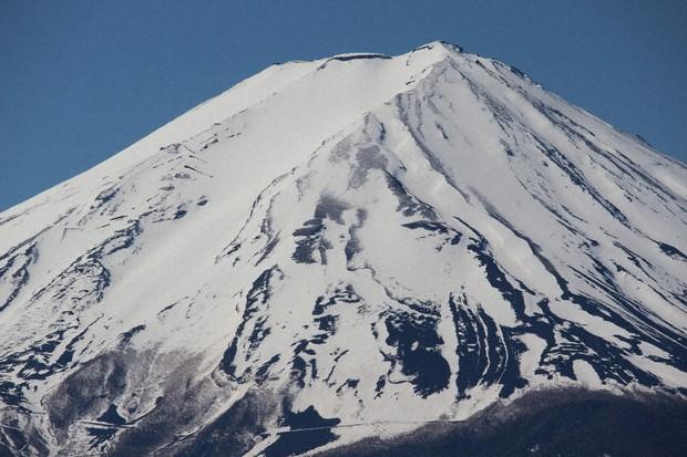 へ go の 富士山 雪