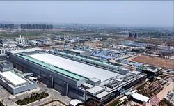 稼働中のサムスン電子の中国西安半導体第2工場 サムスン電子提供