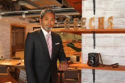 photo 中村琢磨:東京都渋谷区の本社で