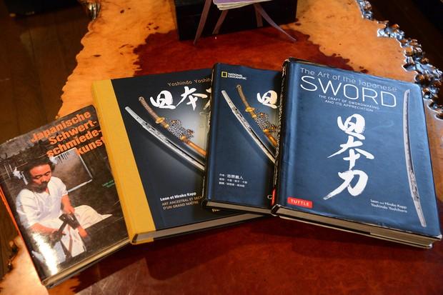 著作を通じて海外にも日本刀の魅力を発信 撮影=武市公孝
