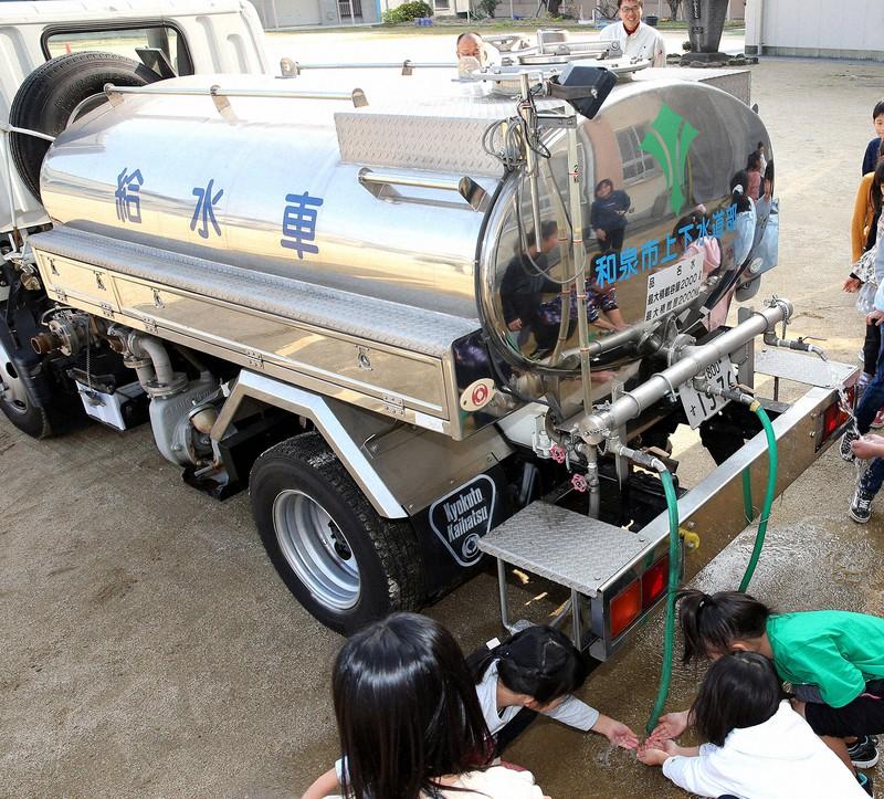 今年1月に和歌山市で老朽化した水道管が破損し、大規模な断水が起きた