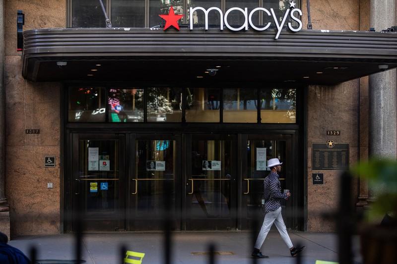 都市封鎖で閑散とする米ニューヨーク(Bloomberg)