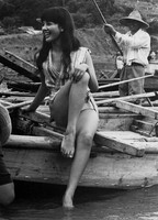 Japanese actress Mie Hama, who played the role of James Bond's wife in the movie,