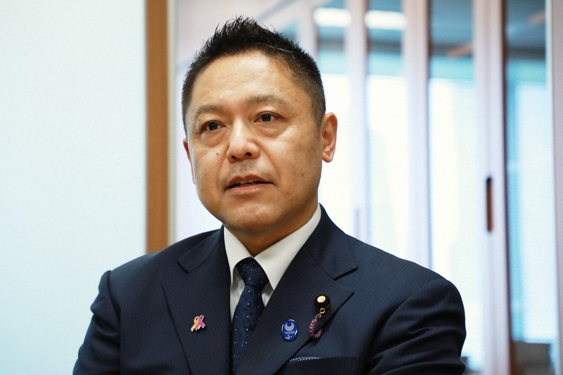 横沢高徳氏=岡本同世撮影