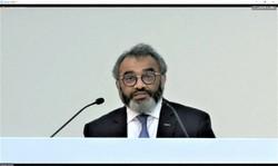 決算会見で説明する日産自動車のアシュワニ・グプタ最高執行責任者(COO)=5月28日