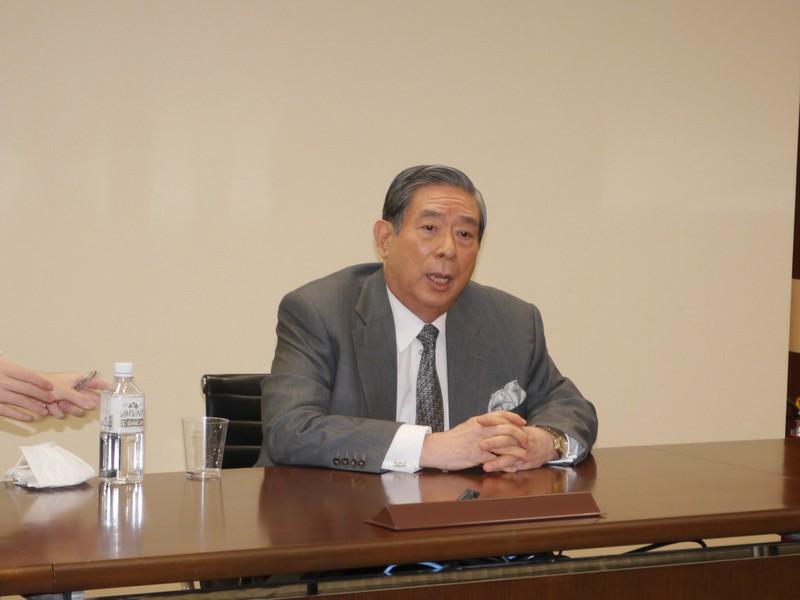 SBIホールディングスの北尾吉孝社長