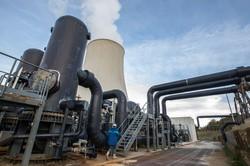 エネルのグループ会社が運営するイタリアの地熱発電設備(Bloomberg)
