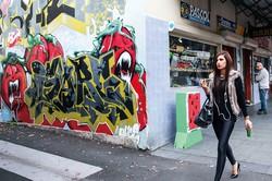 アボリジニが長く住み続けているシドニーのレッドファーン地区 (Bloomberg)