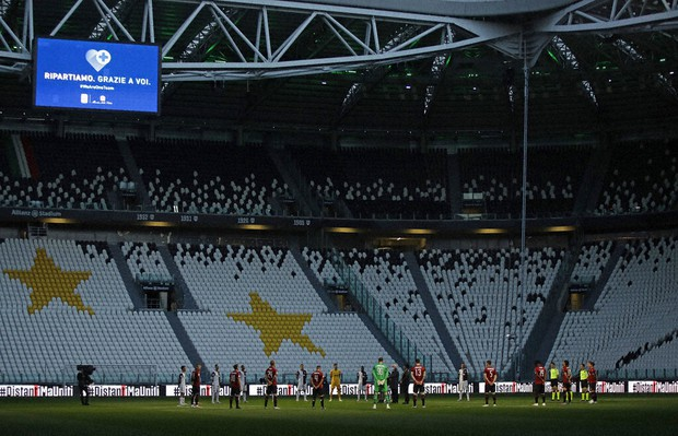 Italian Soccer Resumes In Silence Juventus Reaches Final The Mainichi