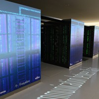 スーパーコンピューターの富岳=神戸市中央区で2020年6月16日午前10時52分、望月亮一撮影