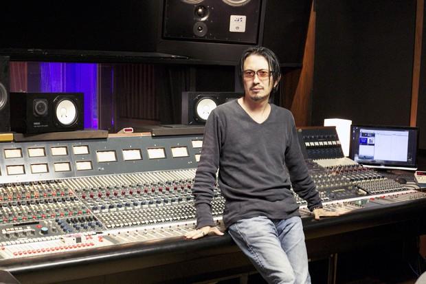 米国のレコーディングスタジオで