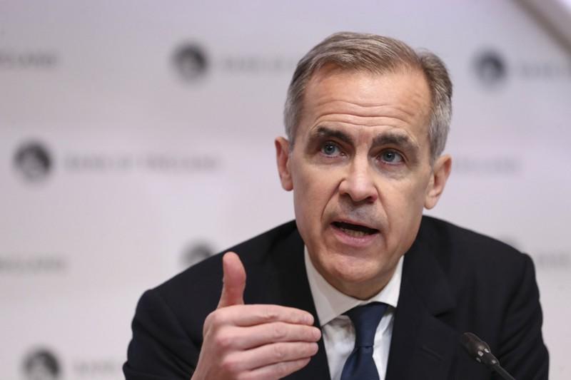 気候変動問題に伴う金融監督上のリスクについて最も早く警鐘を鳴らしたカーニー前イングランド銀行総裁(Bloomberg)