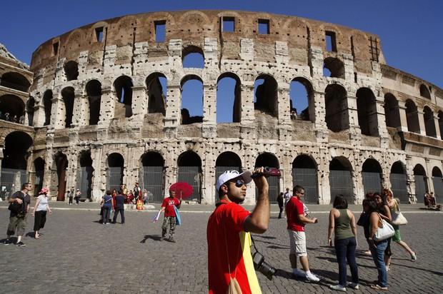 米国は古代ローマの「寛容」を受け継いで覇権国に(Bloomberg)