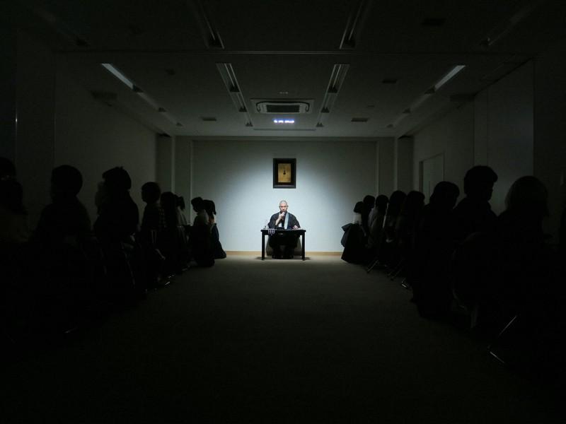 「死の体験旅行」ワークショップの様子=浦上哲也さん提供