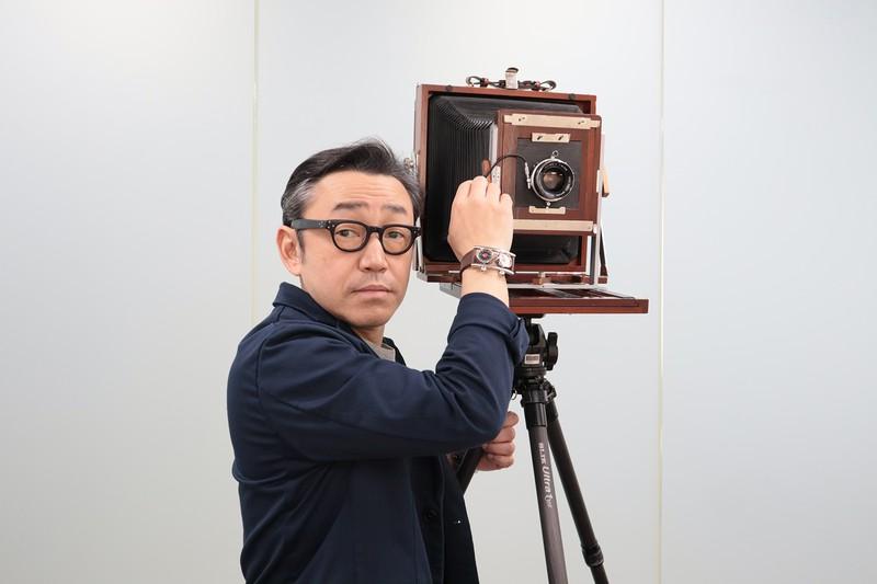 「大きくて、いつも隣に立っている8×10カメラは、頼もしい相棒です」 写真提供/堀プロ