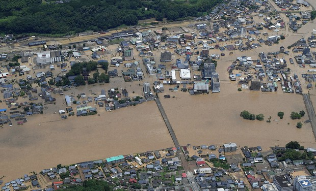 川 洪水 球磨