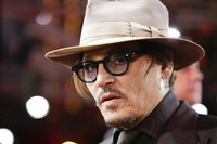 In this Friday, Feb. 21, 2020 file photo, actor Johnny Depp arrives for the screening of the film Minamata during the 70th International Film Festival Berlin, Berlinale in Berlin, Germany.(AP Photo/Markus Schreiber, File)