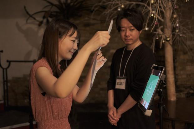 QRコードと顔認証の2つの技術を組み合わせて非接触のチケット確認を行う「MOARA QR」(提供:playground)