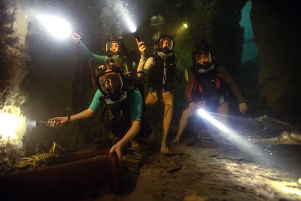 映画 海底47m 古代マヤの死の迷宮 好評パニックスリラーの続編 逃げ場なくサメに襲われる恐怖=野島孝一