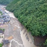豪雨被害を受けた熊本県球磨村の民家=同村で2020年7月7日撮影、住民提供