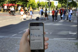 ドイツテレコムなどが開発した新型コロナウイルスの警戒アプリ(Bloomberg)