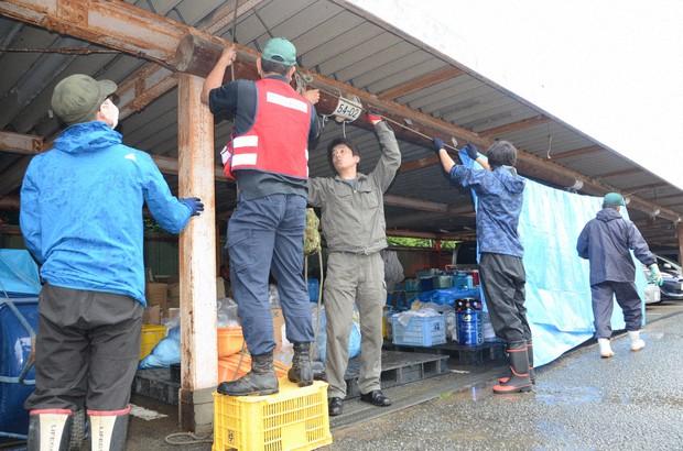 熊本・芦北、人吉でボランティア活動中止 大雨で現場入れず - 毎日新聞