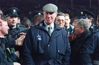 This Feb. 15, 1995 file photo shows Ireland soccer team manager Jack Charlton. (PA via AP)