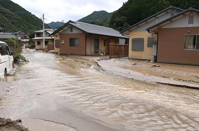 九州豪雨・被災者の証言:熊本・球磨村その1 「自分の身は自分で守って ...