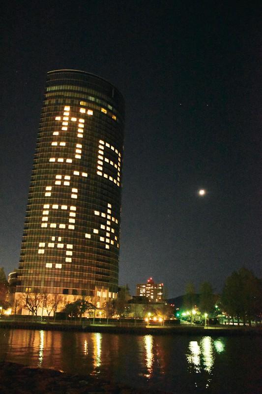西武グループのプリンスホテルは一部施設を除き休業を余儀なくされた。写真はびわ湖大津プリンスホテル(20年4月)