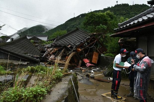 九州豪雨 「長期にわたる支援が必要」 500棟以上全壊か 被害認定 ...