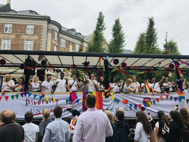 Copenhagen Pride 2019 にて=筆者提供