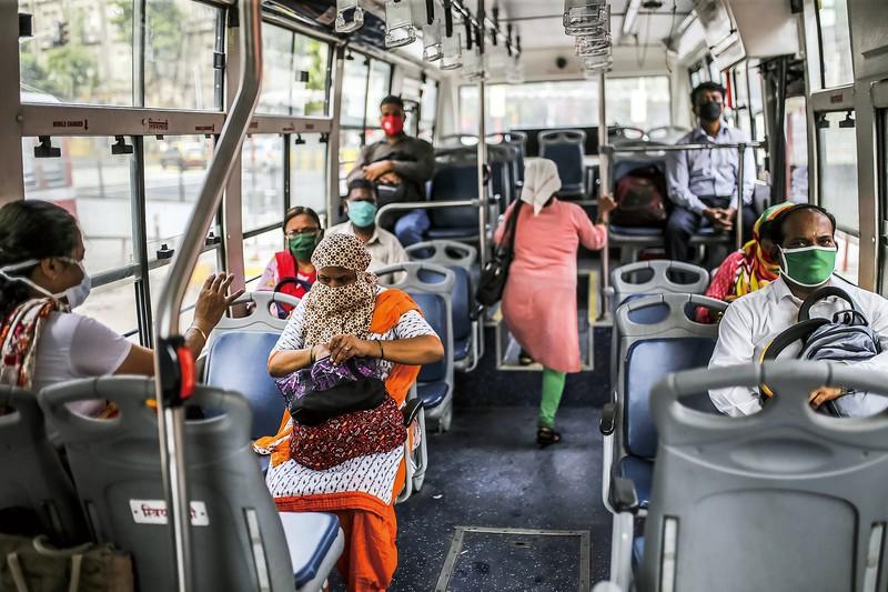インドの感染者数は世界で3番目に多い(7月14日時点) (Bloomberg)