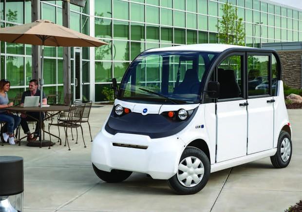 ゴルフカートのような自動運転のネイバーフッドカー(NEV)専門メーカー、米GEM社のカタログ