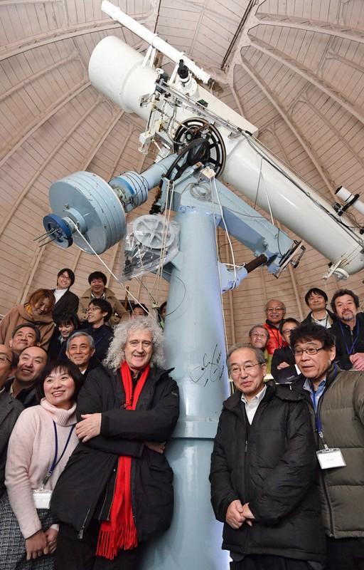 クイーンのブライアン・メイさんが応援 京大花山天文台存続へCFで寄付 ...