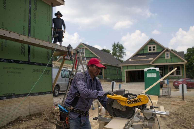 新型コロナの影響で米住宅市場は低迷している Bloomberg