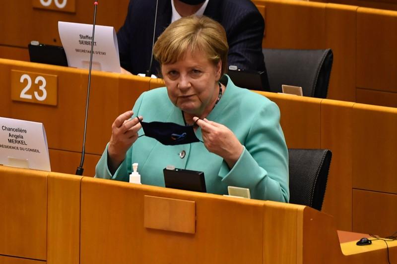 欧州復興基金の取りまとめに力(独メルケル首相)(Bloomberg)