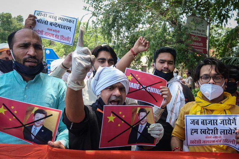 中国と国境紛争が再燃している(Bloomberg)