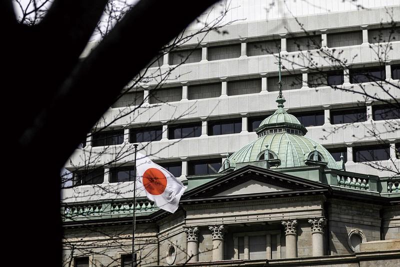 欧米各国との連携を重視(日銀本店) (Bloomberg)