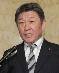 Foreign Minister Toshimitsu Motegi (Mainichi/Masahiro Kawata)