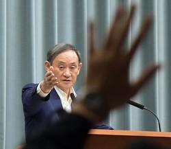 菅義偉官房長官の言動に自信が戻った?(首相官邸で7月9日)