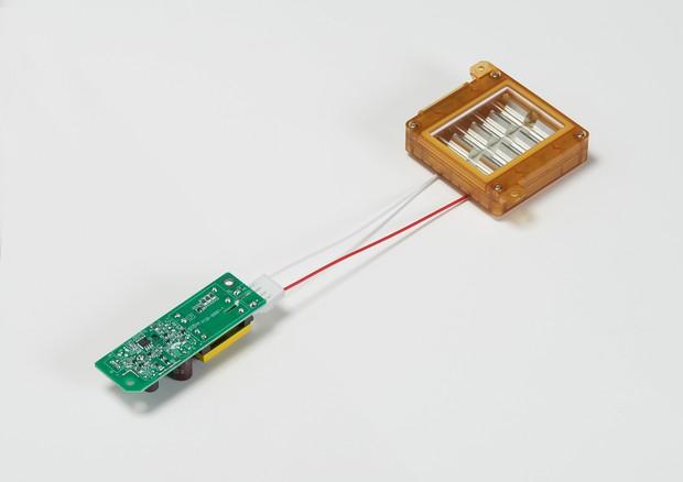 ウシオ電機の「222nm 紫外線殺菌・ウイルス不活化モジュール Care222」(ウシオ電機提供)