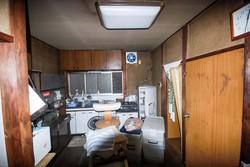 江東区の空き家を、ルーヴィスが借り上げて改装し、賃貸に出した事例。改装前 ルーヴィス提供