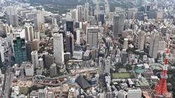 2012年12月に始まった景気拡大は戦後最長とならなかった=東京都港区で2020年8月9日、本社ヘリから竹内紀臣撮影